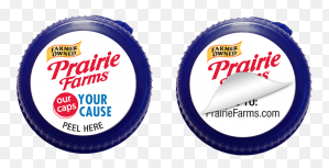 Prairie Farms Milk Lids