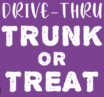 Rountree DRIVE-THRU Trunk or Treat - TUESDAY - OCTOBER 27TH - 5:30-7PM!