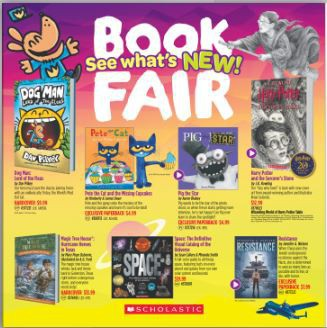 Fall Bookfair is coming!