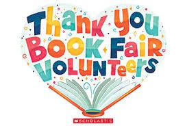 An extra shout-out goes to our Parent Involvement Committee for coordinating the staffing of our book fair during conferences.