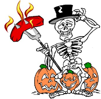 Halloween BBQ - Early sign up