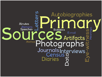 Stem Vocabulary of the Week: Primary Source