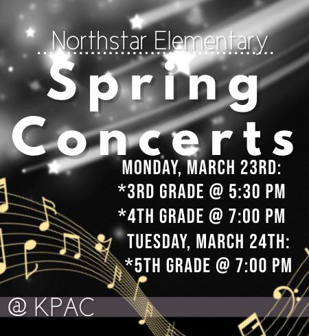 Northstar Spring Concerts