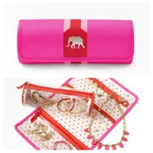 Elephant Jewellery Roll - £32 NOW £20