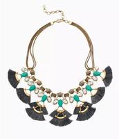 Lotus Tassel Necklace-Reg $129, Sale $64
