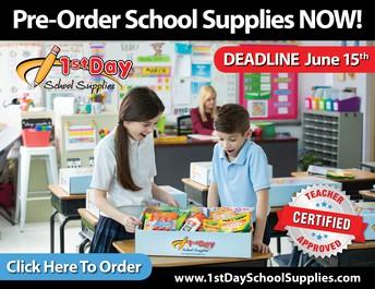 Next Year's School Supplies