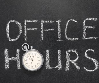Horario de Oficina Virtual: del 5 al 9 de abril