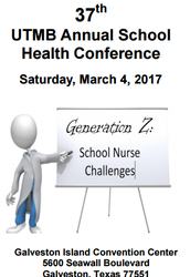 37th UTMB Annual School Health Conference