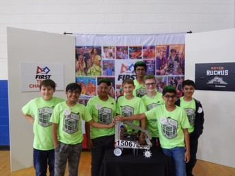"oss ftc ""kube khaos"" team earns promote award"