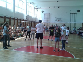 Learning from proffesional volleyball player