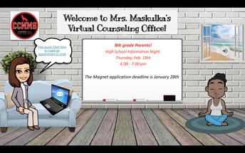 Ms. Maskulka's Virtual Office - 8th grade