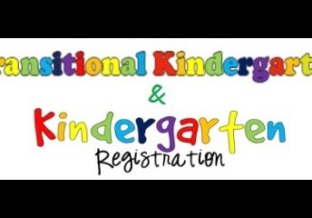TK and Kinder Registration Open!