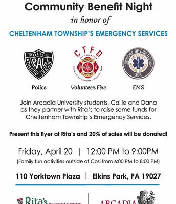 Community Benefit Night for Township Emergency Services