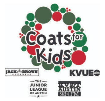 Logo and link to Coats for Kids Application