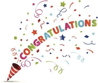 Félicitations / Congratulations!!!