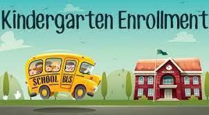 Kindergarten Enrollment Now Open