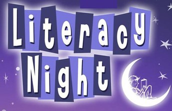 Family Literacy Night (Book Fair also open)