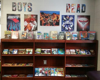 Check out our new Boys Read Corner!