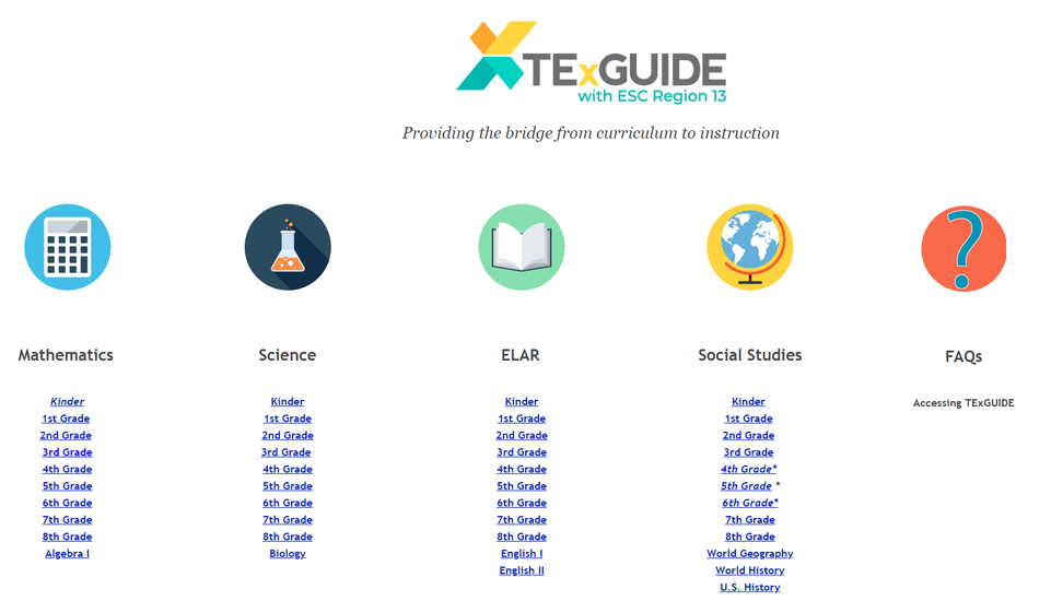 TEKS RESOURCE SYSTEM NEWS | Smore Newsletters for Education