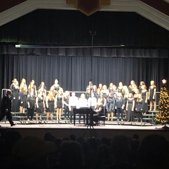 HIGH SCHOOL CHORUS WINTER CONCERT