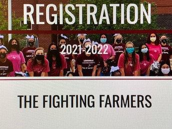 2021-2022 Course Registration Currently Underway