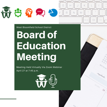 Board of Education Regular Meeting - April 27