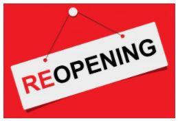 Campus Reopening!