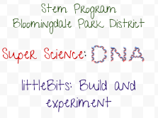 New STEM Programs at the Bloomingdale Park District
