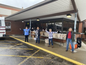 Jimtown North Meal Distribution