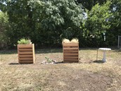Sight and Touch Planters