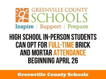 Change to Attendance Plan