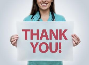 Nurse G says THANKS!!