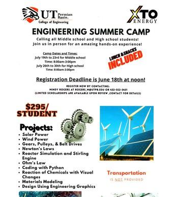 2021 Engineering Summer Camp