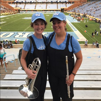 UNC Band Day