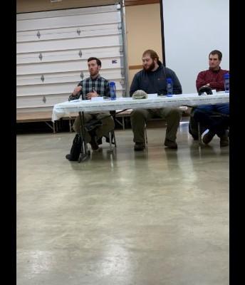 Taylor Helbig, Nate Guldin, and Jesse Bitler