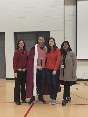 Teacher of the Year- Brian Hussey