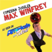 "Live! At the Lake!  Max Winfrey:  Stunt Comedian  As seen on ""America's Got Talent""!"