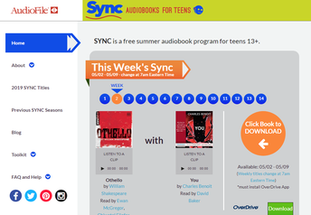 Audiobook Sync for Teens