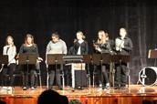 Gentry Kunsky, Echo McNeely, Teresa Marquez, Shyann Carothers, Treau Smith and Braxton Carothers