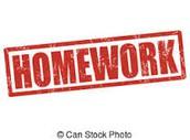 Homework Reminders