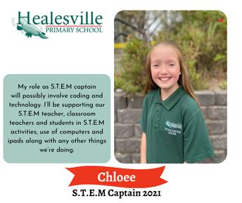 Chloee– S.T.E.M Captain