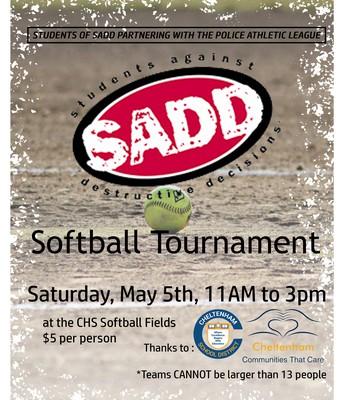 SADD Softball Tournament