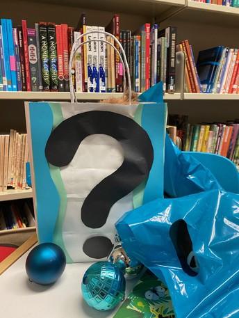 non-representative example of mystery bag