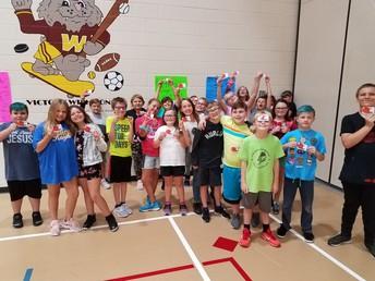 Congratulations 5th graders!