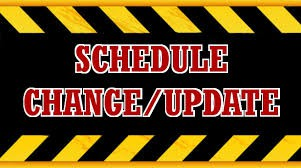 3rd trimester schedule changes