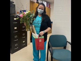 Sanderson Academy Nurse Loranna Almeida