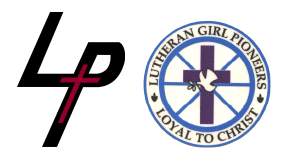 LUTHERAN GIRL PIONEERS STARTING THIS MONTH FOR GRADES K-8!