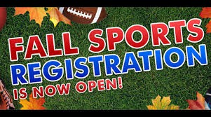 Fall Athletic Registration