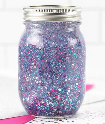 How to Make a Calm Down Glitter Jar!