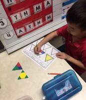 Many ways to make a triangle!